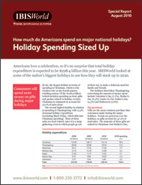 Holiday Spending Sized Up
