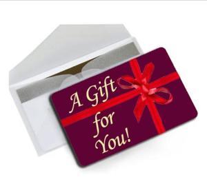 gift card art