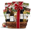 Holiday On The Vine Gift Basket