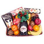 Festive Fruit Flavor Gift Basket